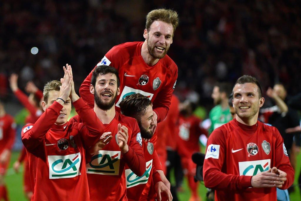 El Les Herbiers no tuvo que enfrentarse a ningún equipo de primera división en las siete eliminatorias que tuvo que superar para llegar a la final.