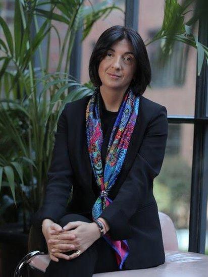 Nino Zambakic, preduzetnica koja je osnovala nekoliko kompanija u Gruziji