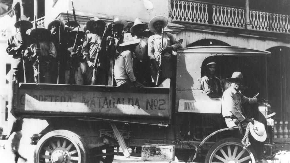 Transporte de tropas 1927, Nicaragua.