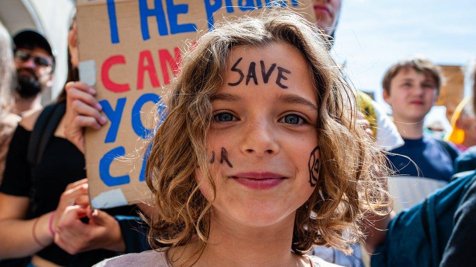 İklim krizi çocuk