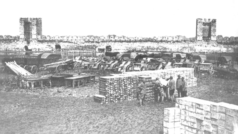 Eksplozija u Smederevskoj tvrđavi
