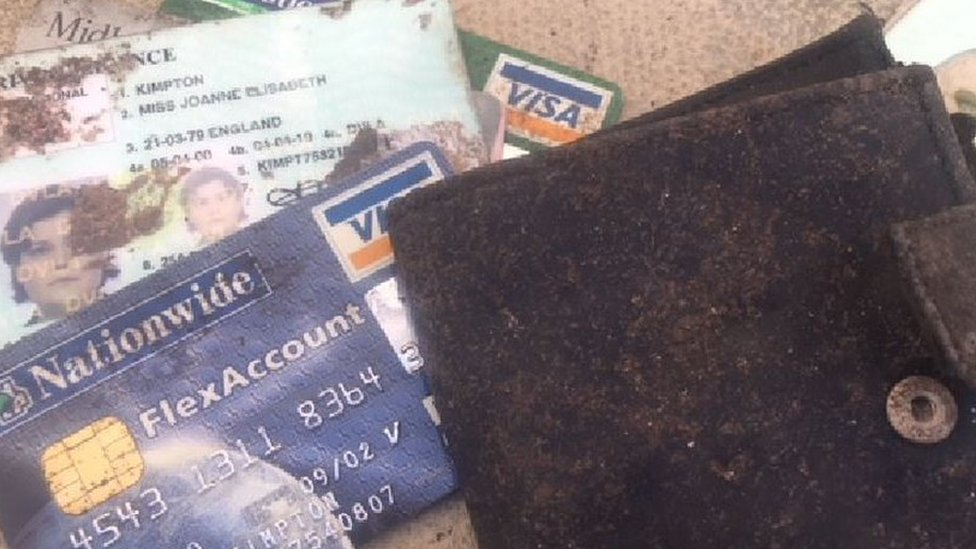 St Ives police get Joanne Beaven's stolen wallet after 18 years