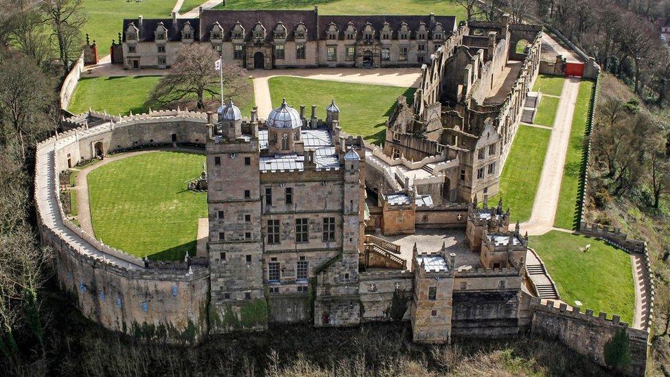 Bolsover Castle, Derbyshire