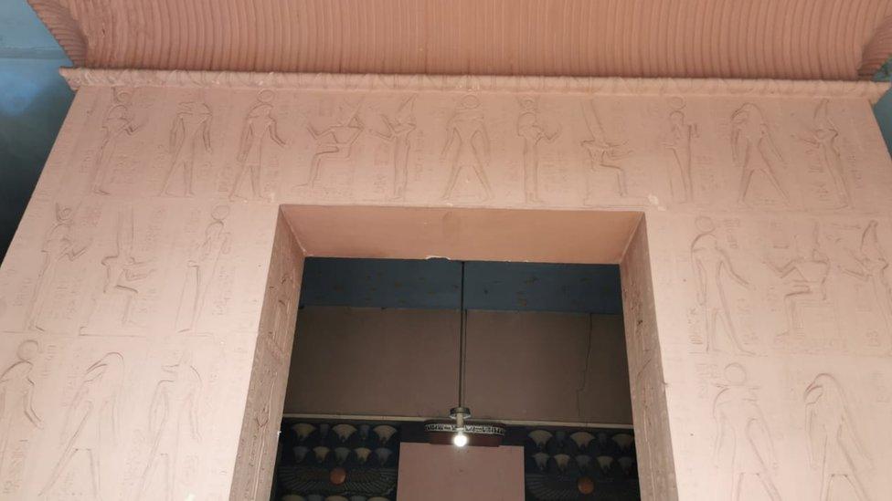 El Palacio Egipcio de Medellí