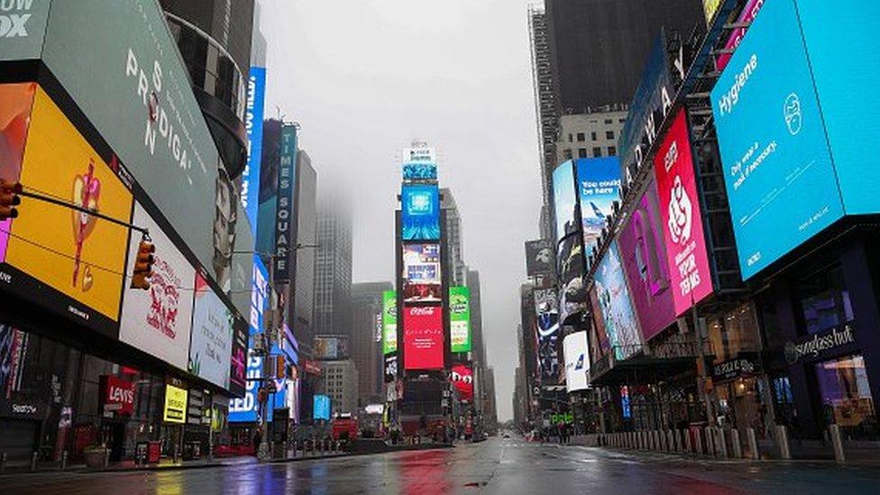 Nueva York vacía