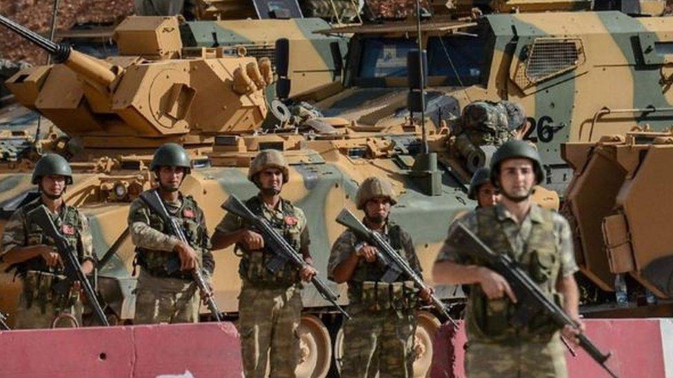 قاعدة تركية