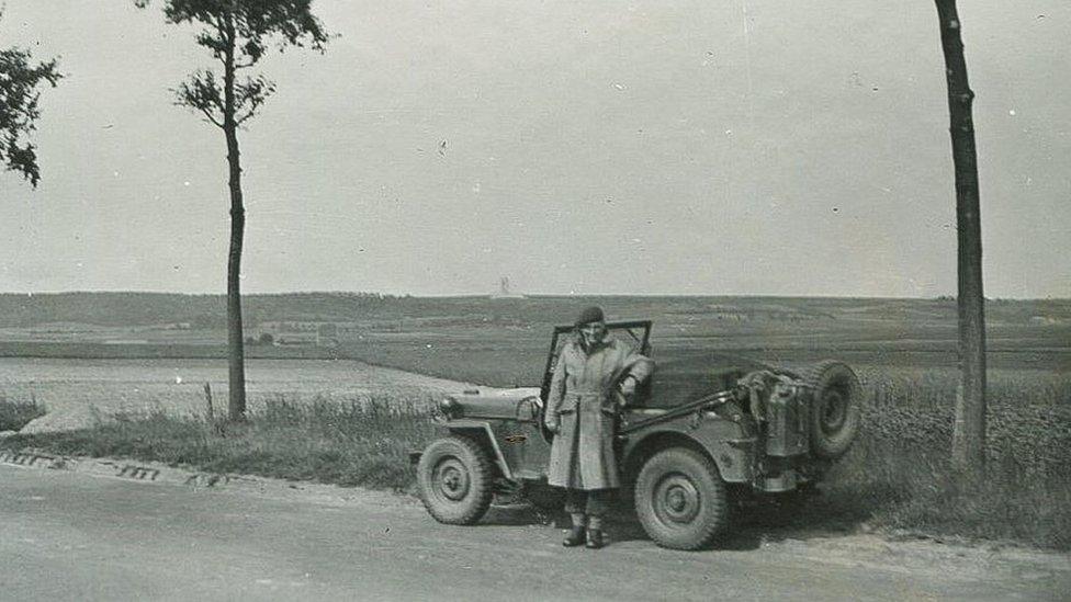 Geoffrey Kemp Bond during WW2