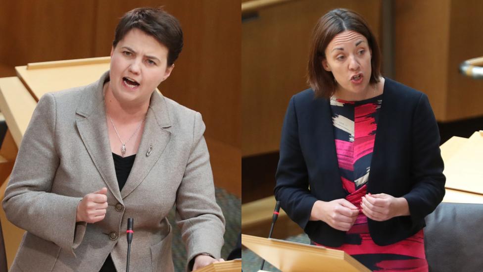 Ruth Davidson and Kezia Dugdale