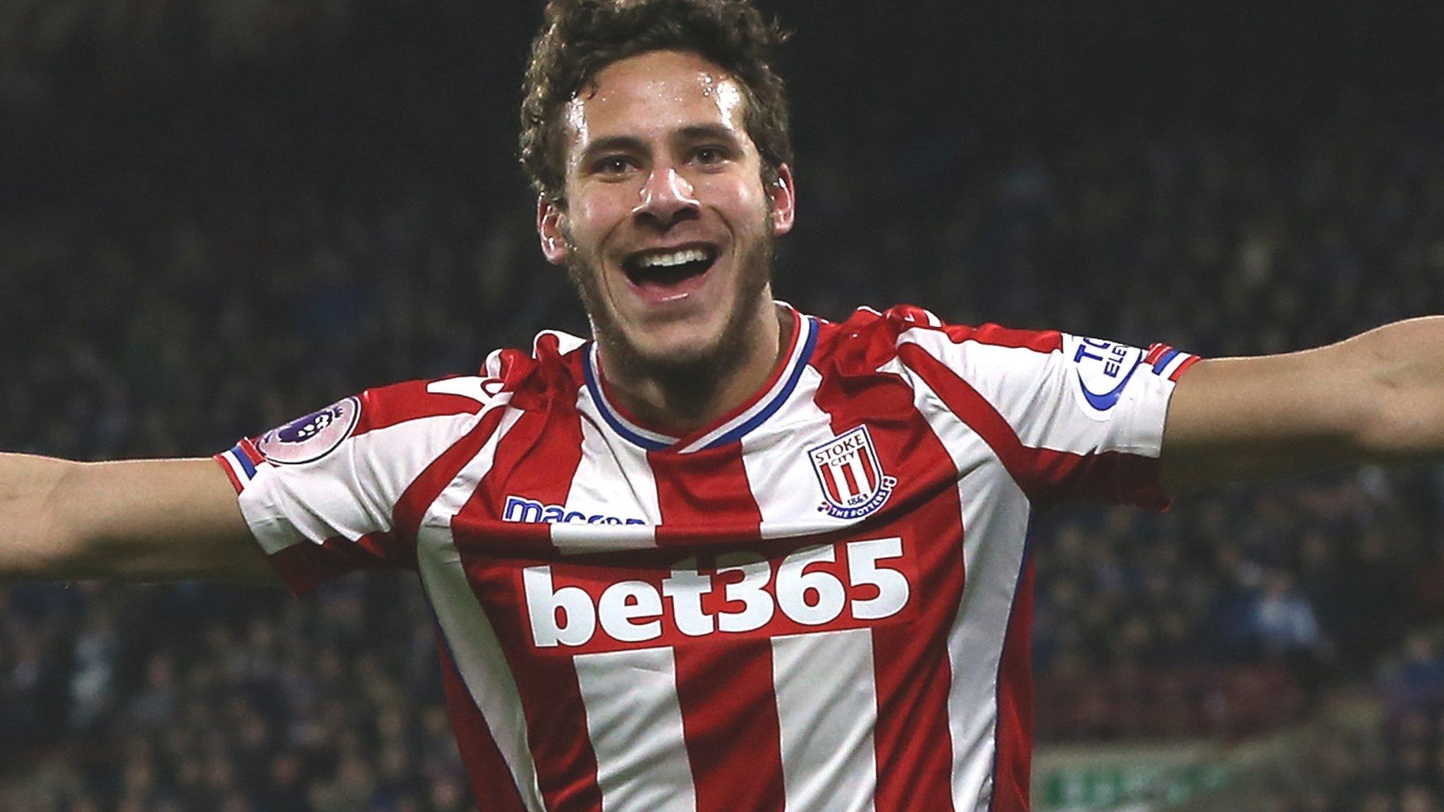 Ramadan Sobhi: Huddersfield Town sign Stoke City winger for £5.7m
