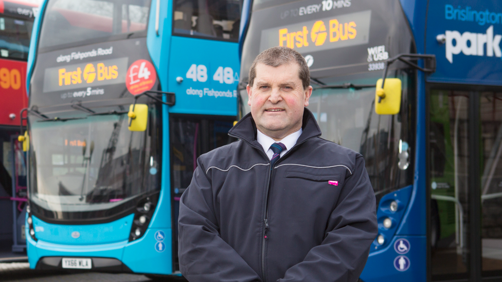 James Freeman, managing director of First Bus South West