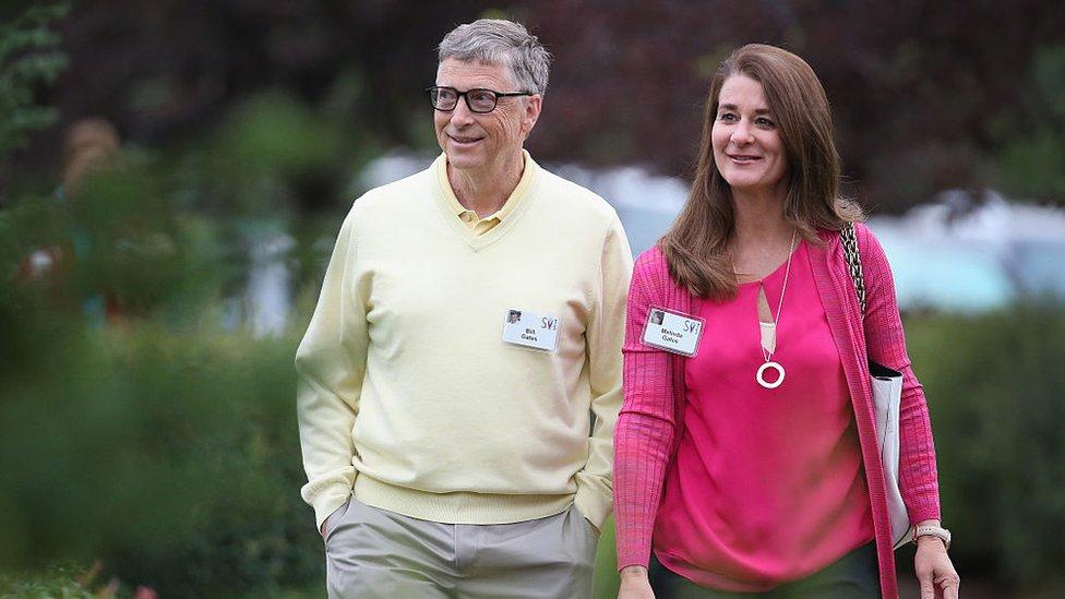 蓋茨夫婦為蓋茨基金會捐贈了大量錢款,投注了大量心血。(2015年資料圖片)