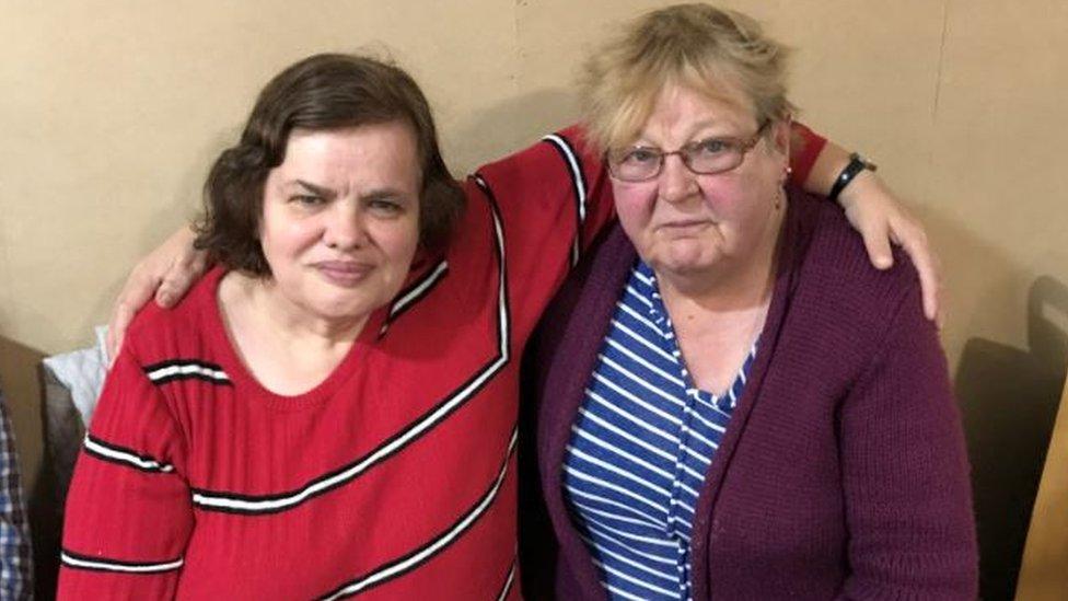Karen Thompson and Gwen Karakawa