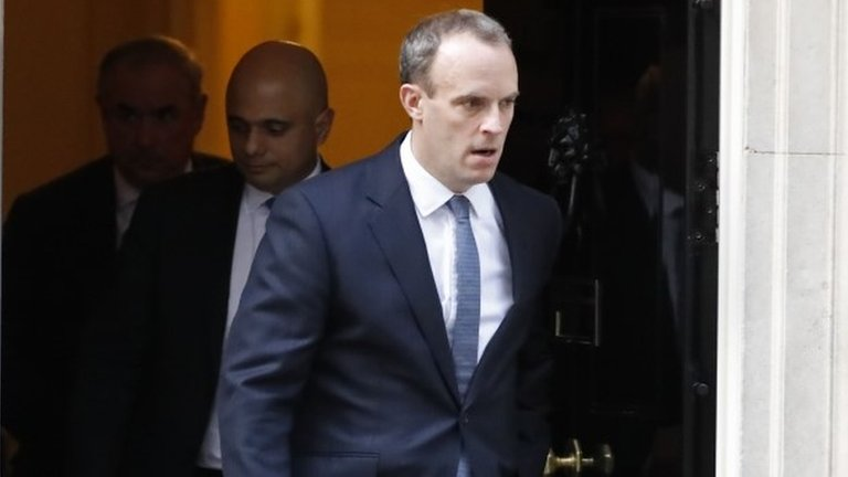 Brexit Secretary Dominic Raab resigns