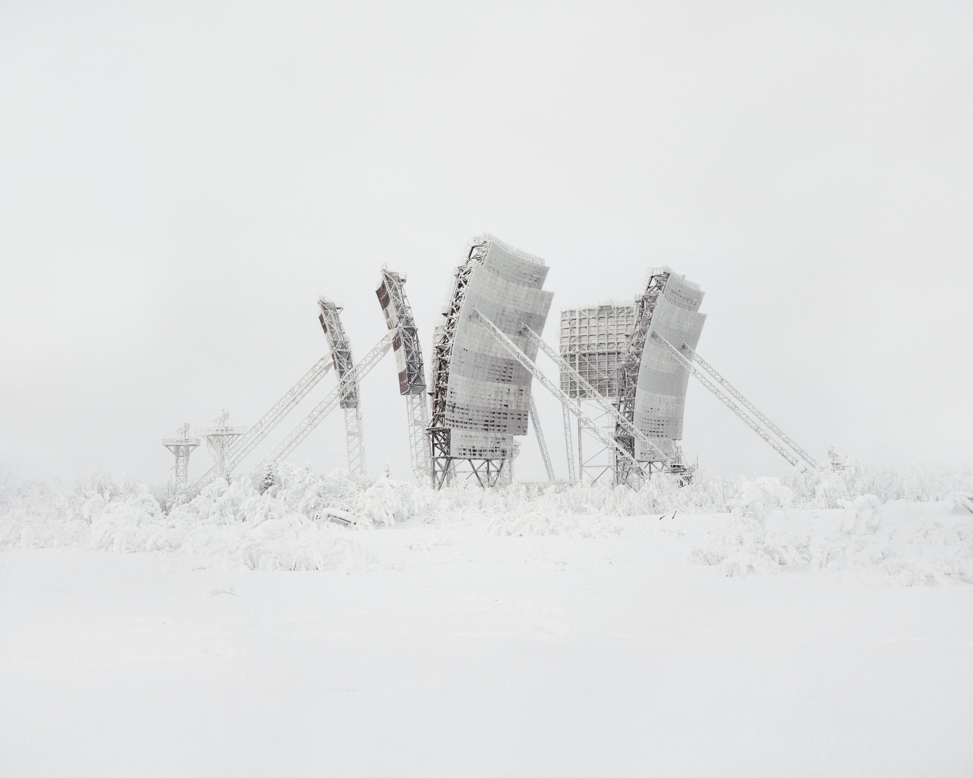 Restricted Areas - Tropospheric antenna in the north of Russia