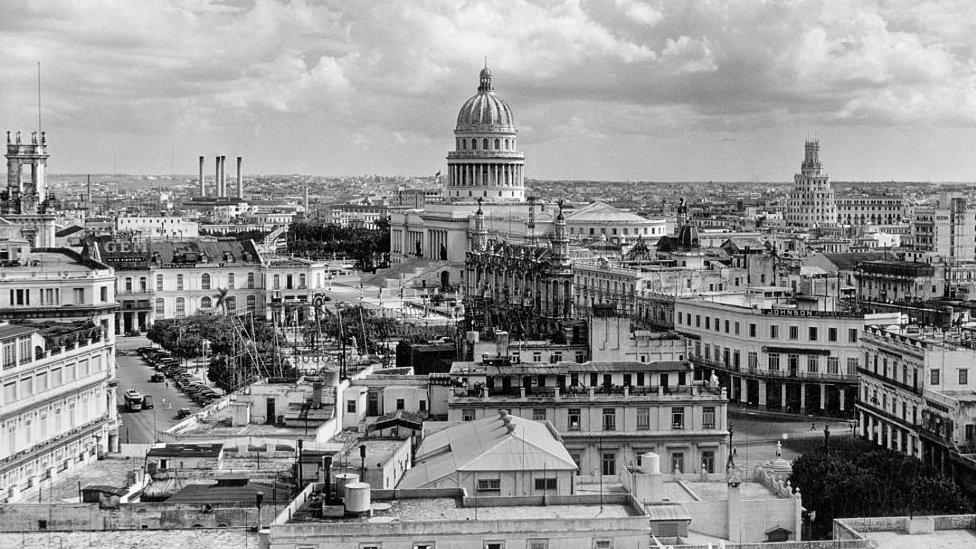 Vista de La Habana en los años 40.
