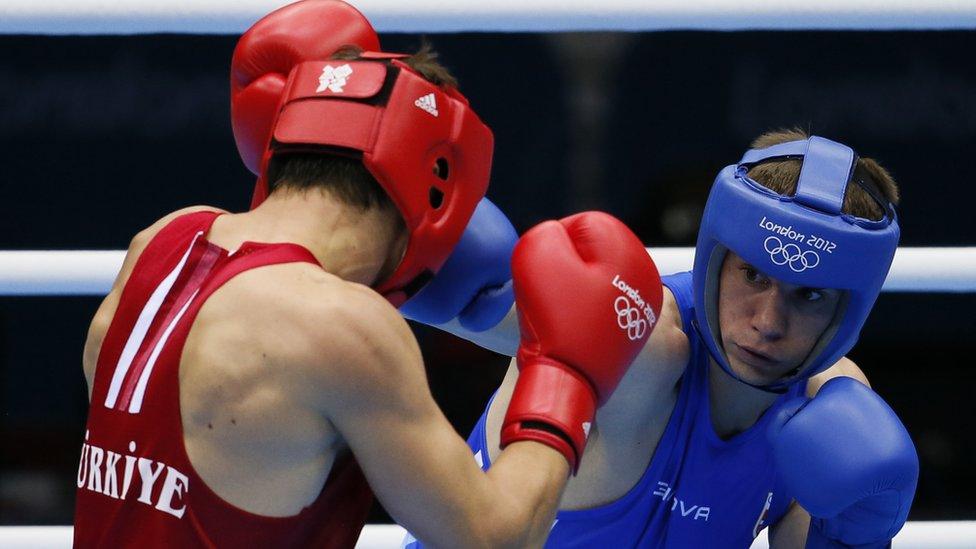 Drenovak na Olimpijskim igrama 2012. u Londonu