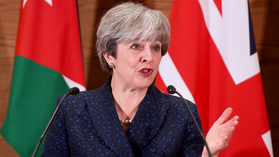 Theresa May: Trump was 'wrong' to retweet far-right posts