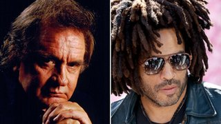 BBC News - Lenny Kravitz: 'Johnny Cash held me when my mother died'
