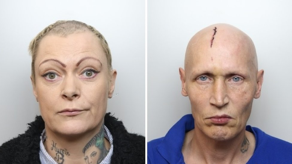 Alison Sarah Moss (left) and David Michael Webster (right)