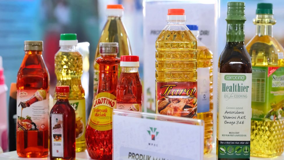 Palm oil is used around the world for cooking, but also in a long list of products such as lipsticks and shampoos