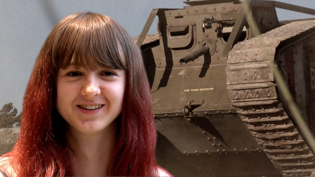 The teenager and the tank: How my ancestor was a WW1 hero