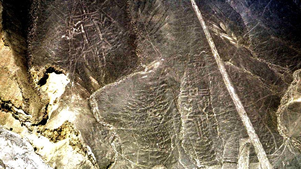 Figuras en el valle de Palpa