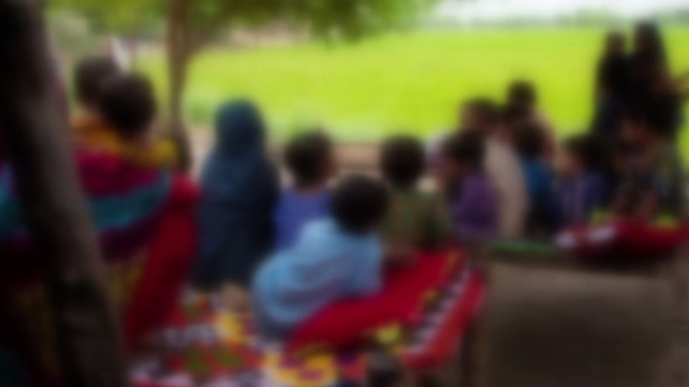 Niños con VIH en Pakistán.