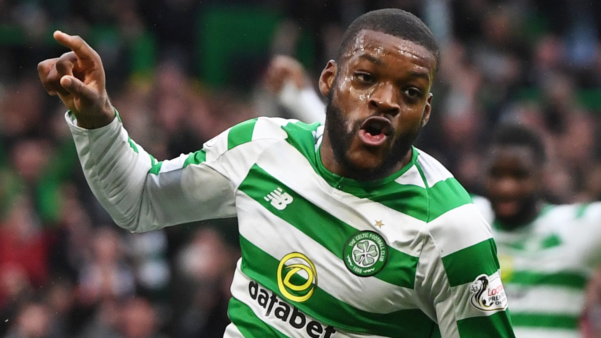Celtic's Olivier Ntcham says he decided to sign new deal in the summer