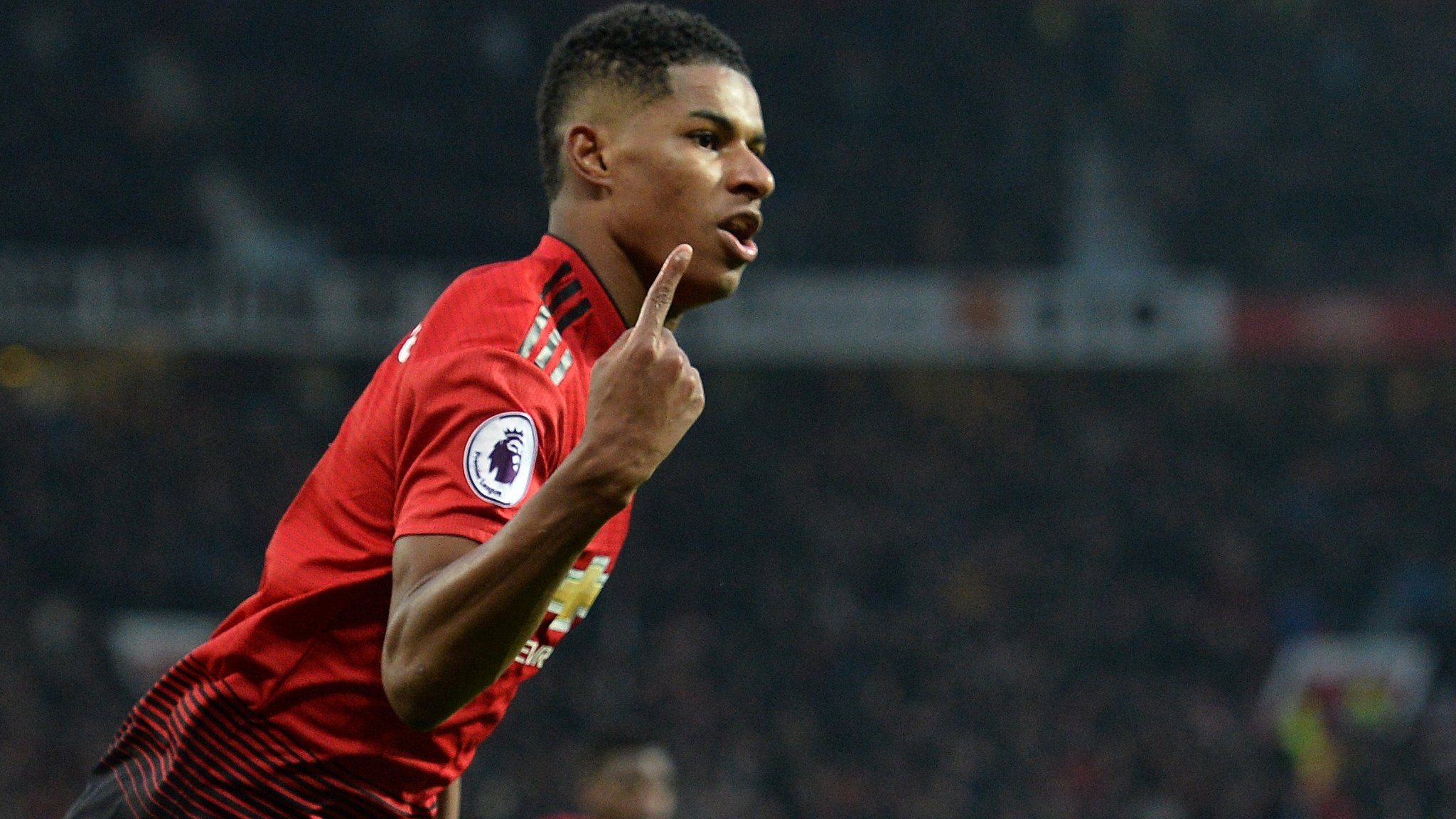 Marcus Rashford can be best striker in league with Harry Kane out injured - Ole Gunnar Solskjaer