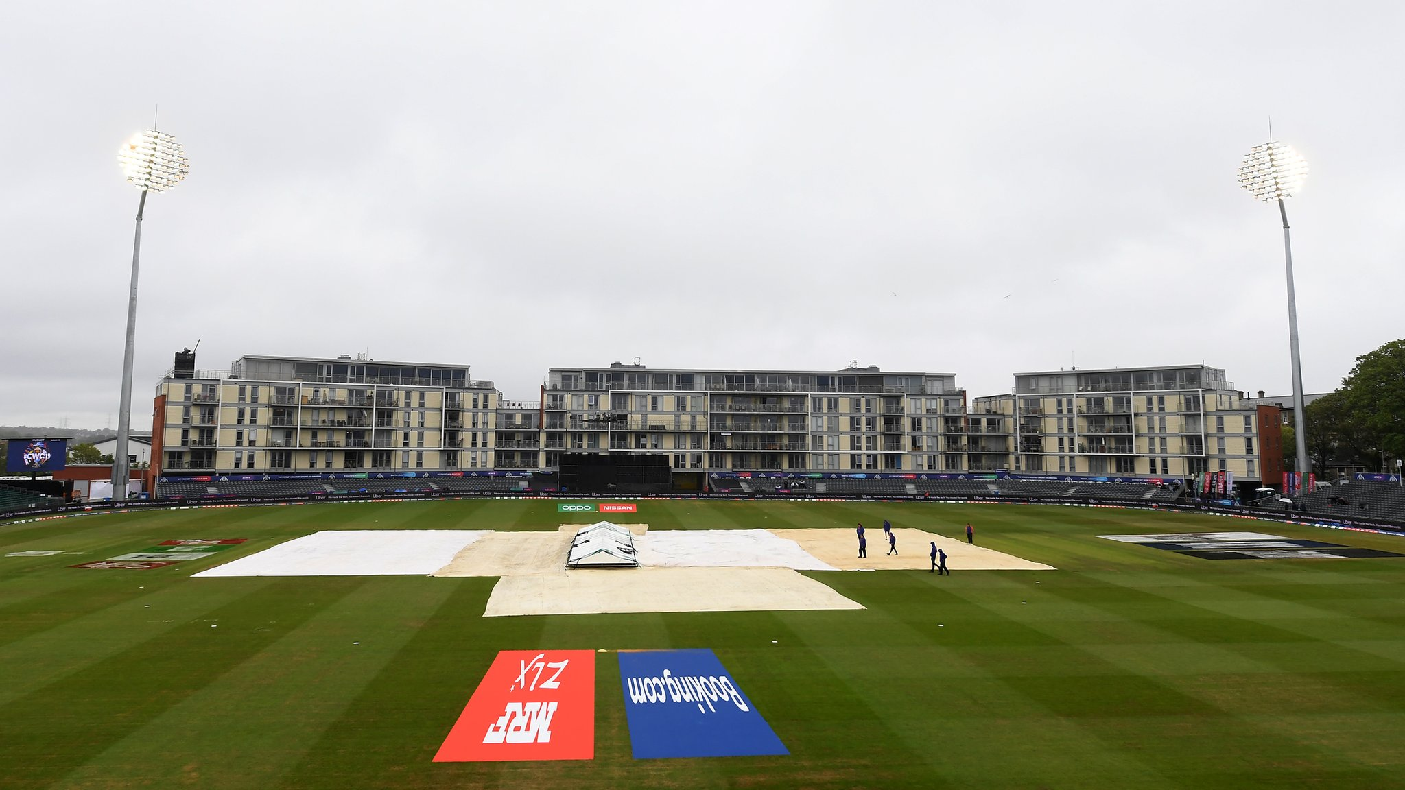 South Africa v West Indies, Pakistan v Bangladesh: World Cup warm-ups abandoned because of rain