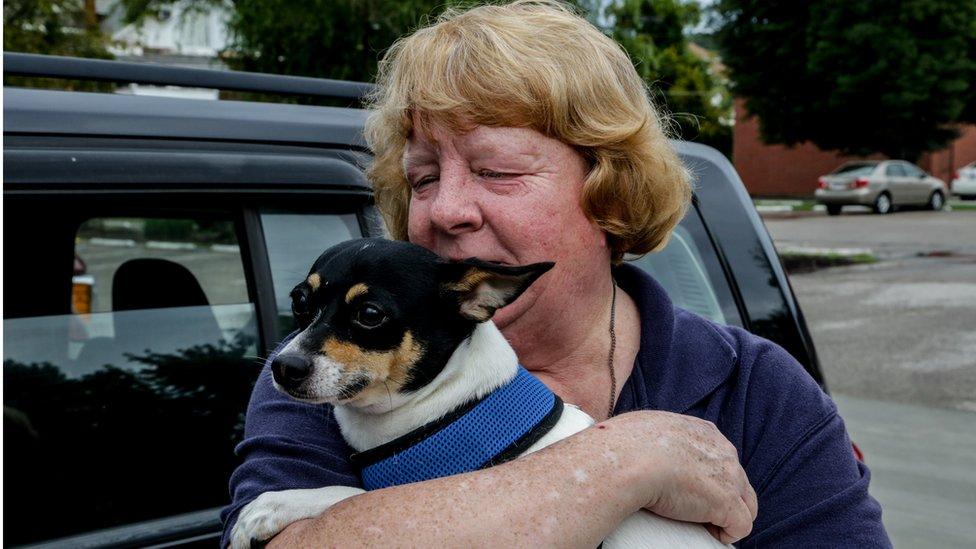 Paciente con perro