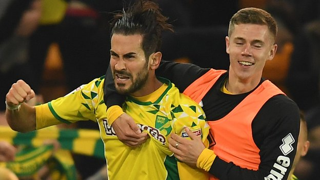 Norwich rescued by late Vrancic equaliser against Wednesday