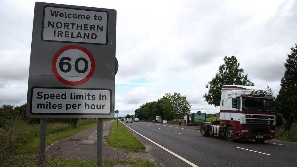 Frontera en Irlanda del Norte