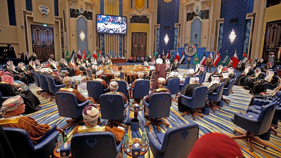تساؤلات حول مستقبل مجلس التعاون الخليجي في ظل أزمته الحالية (صورة من الأرشيف)