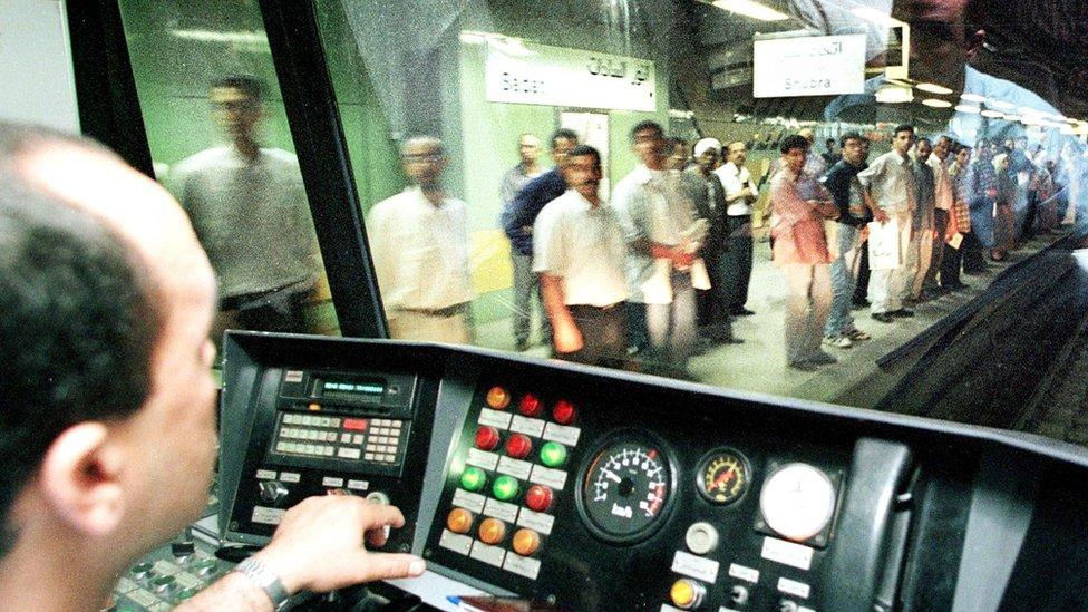 سائق مترو أنفاق