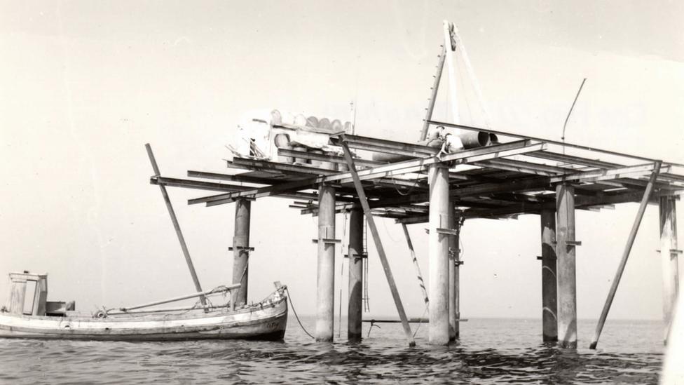 La estructura original de la Isla de las Rosas