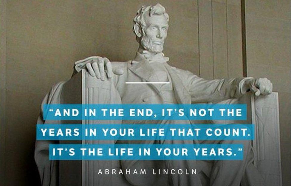 A fake Lincoln quote