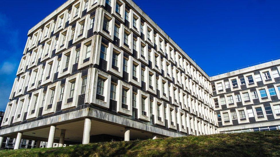 Flintshire council HQ in Mold