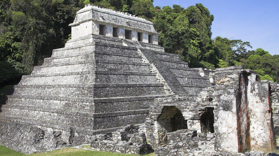 Templo de las Inscripciones, Palenque.