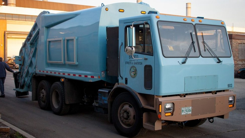electric garbage truck
