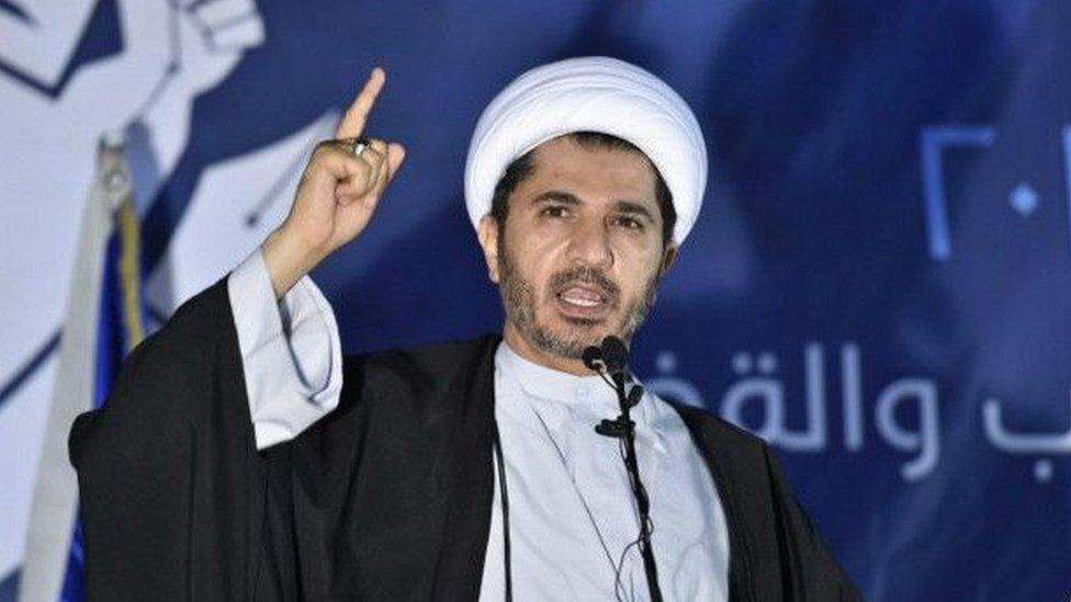 الشيخ علي سلمان زعيم جمعية الوفاق
