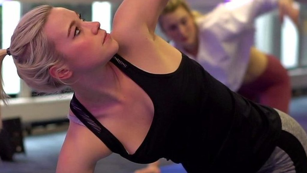 Yoga 'eases my Irritable Bowel Syndrome'