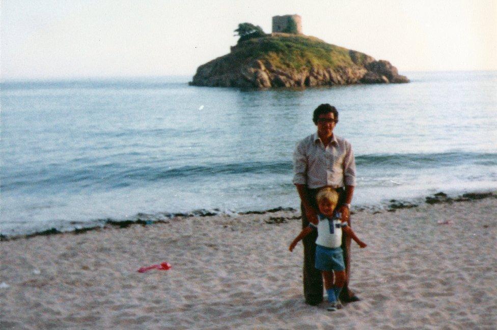 Don e Iain de vacaciones