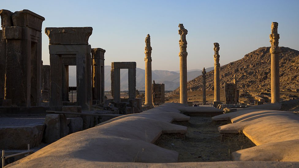 Las ruinas de Persépolis en Irán