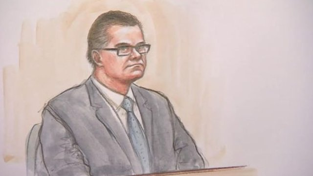 Jason Lawrence sketch in court