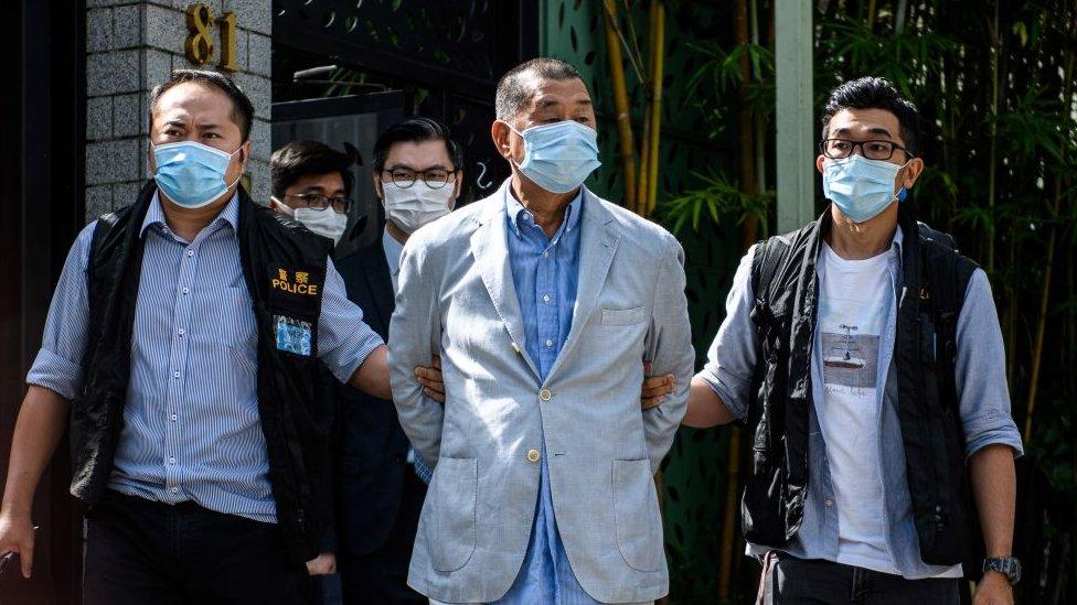 В Гонконге арестован оппозиционный медиамагнат. В чем его обвиняют, не вполне ясно