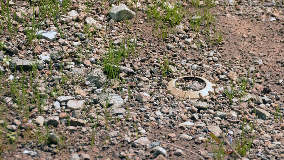 Zakopana mina na planini