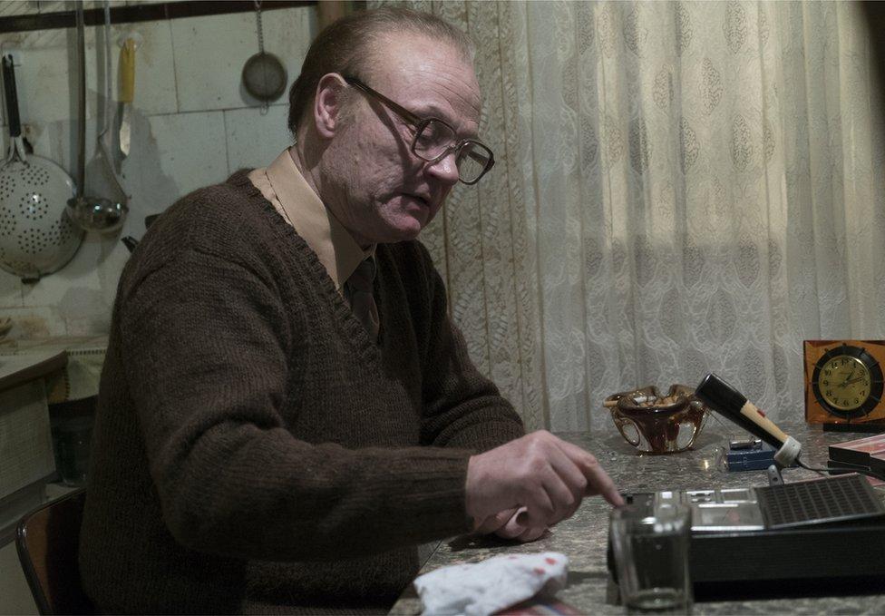 Actor de Chernóbil.