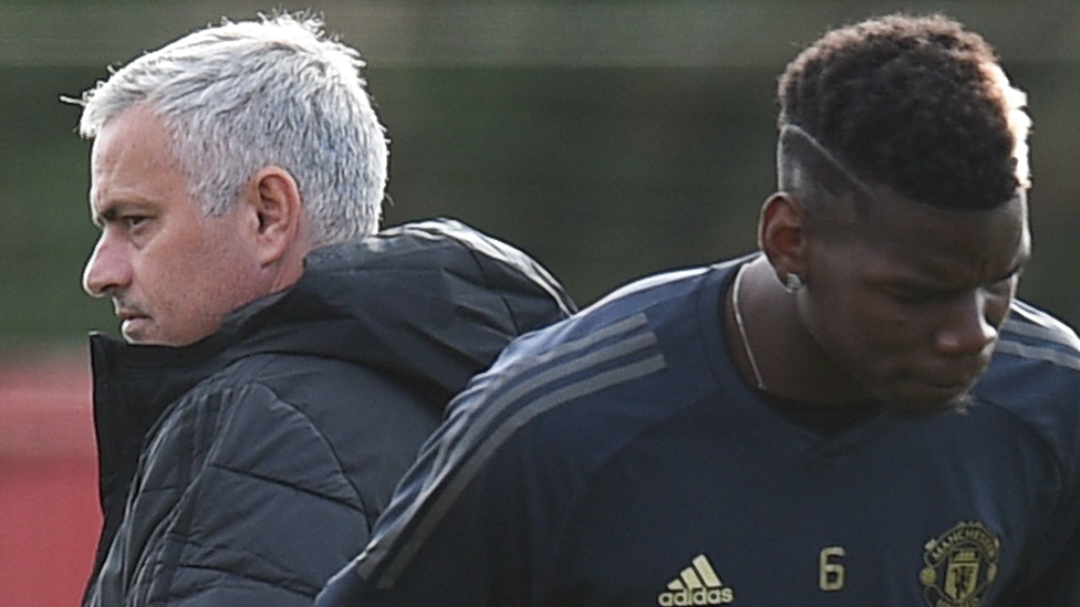 Jose Mourinho ve Paul Pogba