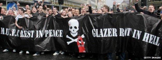 Anti-Glazer protest